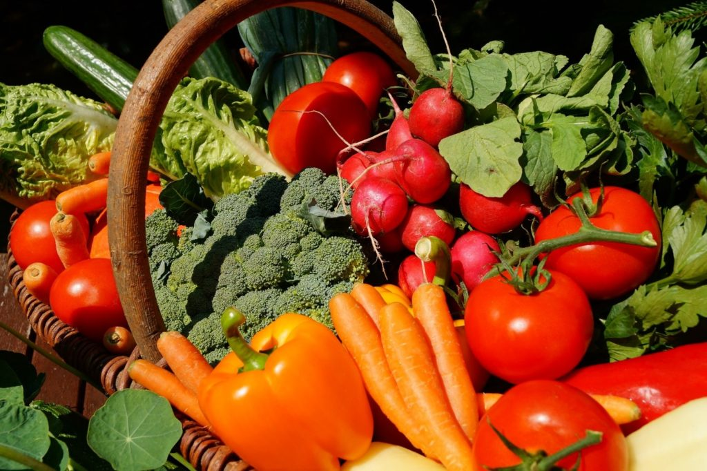 légumes fruits locales