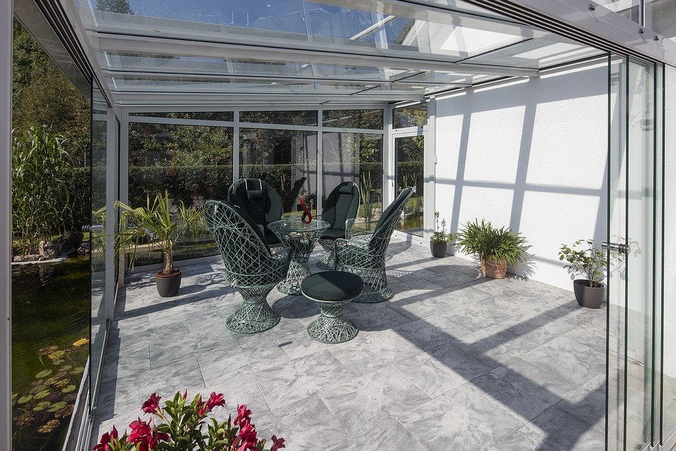 veranda plexiglass